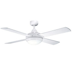 martec primo ceiling fan with light