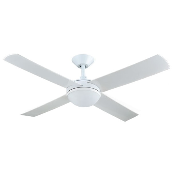 Concept 2 ceiling fan with light white 52 concept 2 ceiling fan with light white 52 by hunter pacific aloadofball Choice Image