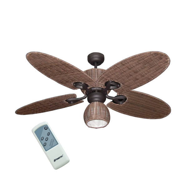 Ceiling fan by hamilton with light remote palm leaf blades hamilton ceiling fan with light and remote mozeypictures