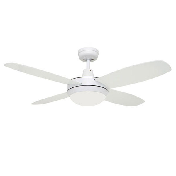 Martec lifestyle mini ceiling fan with light 100w halogen white 42 martec lifestyle mini with light aloadofball Images