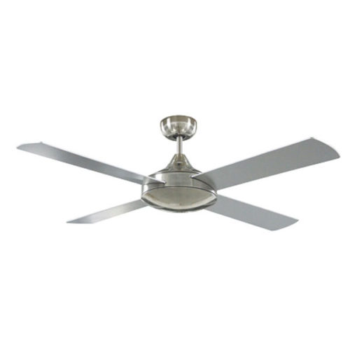 Primo ceiling fan with brushed nickel