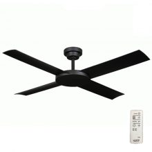 Coastal area fans ceiling fans for coastal locations revolution 2 ceiling fan with remote by hunter pacific black 52 10 left aloadofball Image collections