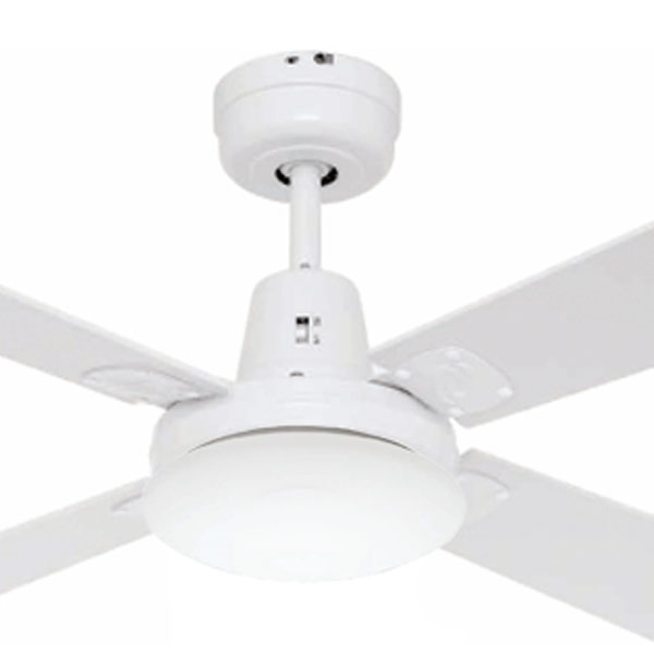 Swift Mini Ceiling Fan with Light White 36""""