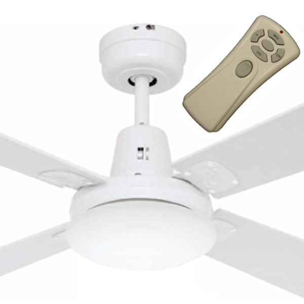 Swift Mini Ceiling Fan With Light And Remote