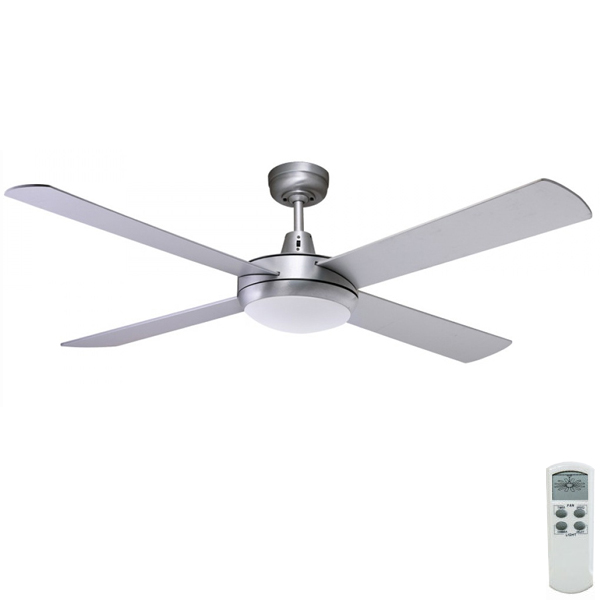 Urban 2 Ceiling Fan With LED Light And Dimmable Remote