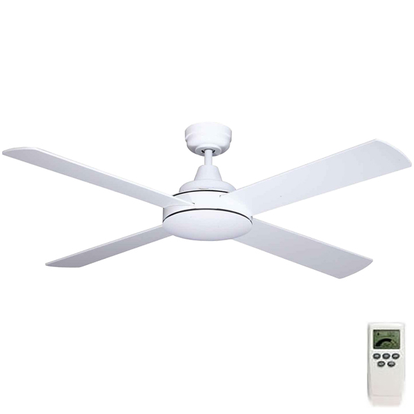 Mercator Grange Dc Ceiling Fan W Remote 52 Quot In White