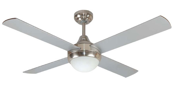 Mercator Glendale Ceiling Fan With Light And Remote 48