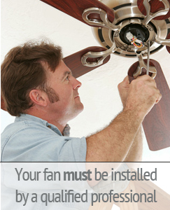 Ceiling fan installation electricians costs what you should know ceiling fan installation aloadofball Image collections