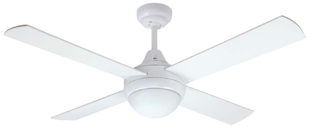 Mercator Glendale Ceiling Fan With Light And Remote In