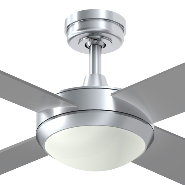 Brushed aluminium intercept 2 ceiling fan with halogen light intercept 2 ceiling fan with halogen light mozeypictures