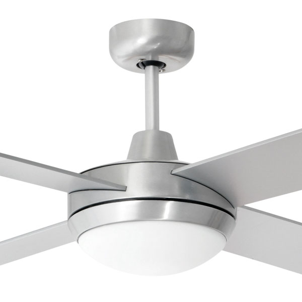 """Super Tempest Ceiling Fan With Light 52"""" By Brilliant"""