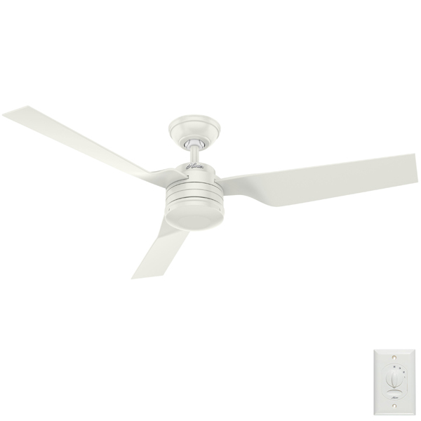 Cabo Frio Ceiling Fan Hunter Fans Damp Rated In White 52 Quot