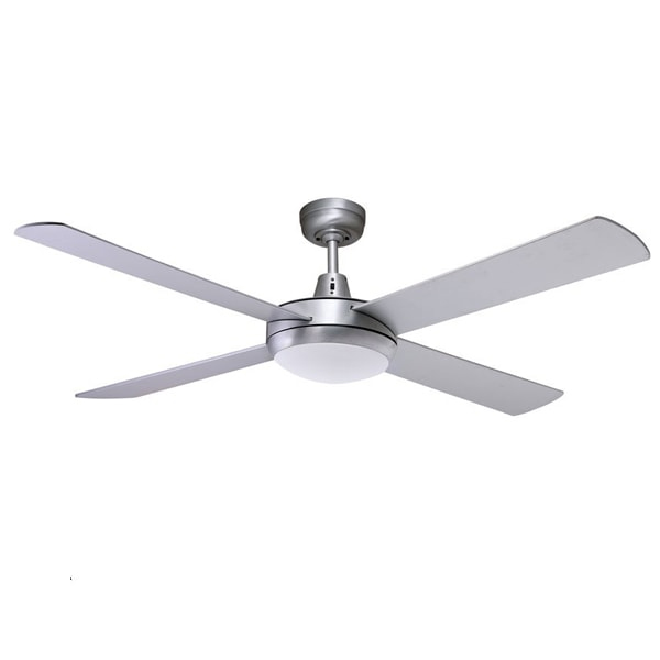 Lifestyle ceiling fan with led 24w light martec lifestyle in lifestyle brushed aloadofball Images