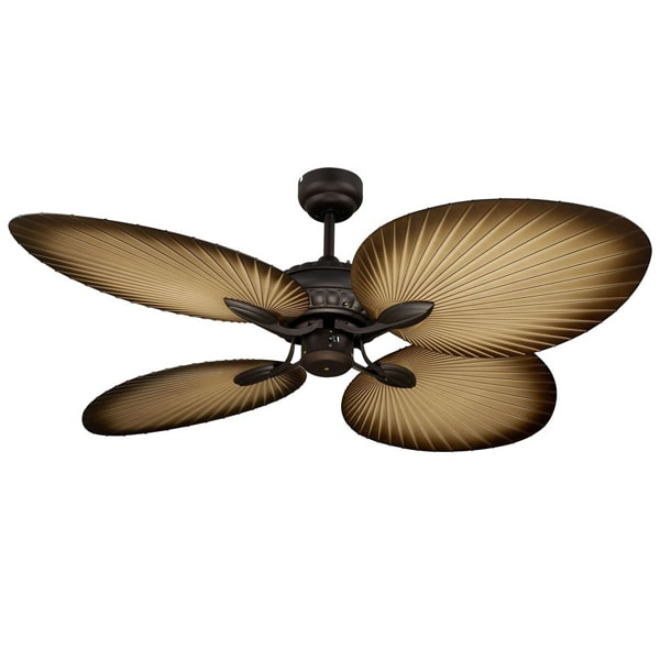 Martec Oasis Ceiling Fan - Old Bronze Tropical Ceiling Fan