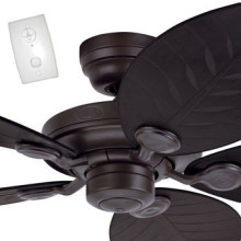Tropical ceiling fans ceiling fans australia online outdoor elements ceiling fan with wall control new bronze 54 aloadofball Images