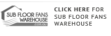 subfloor fans warehouse