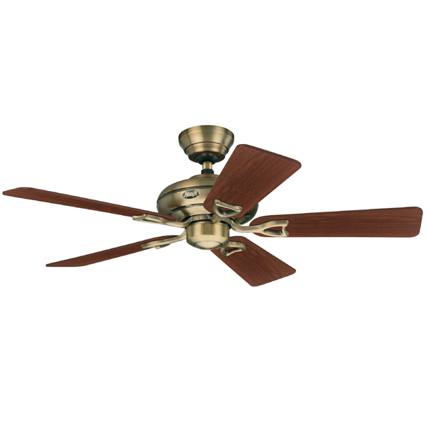 Hunter Seville Ii Ceiling Fan Antique Brass 44 Quot