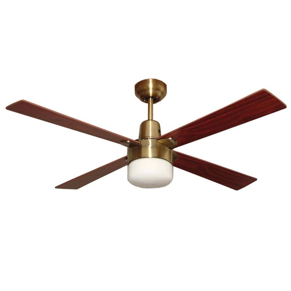 Brass bronze archives ceiling fans warehouse australia alpha ceiling fan with light antique brass 48 aloadofball Images
