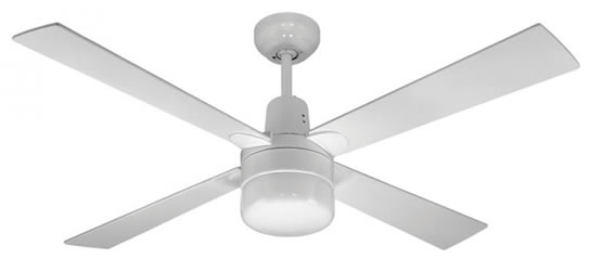 White Ceiling Fan With LightCeilingawe Inspiring Unique