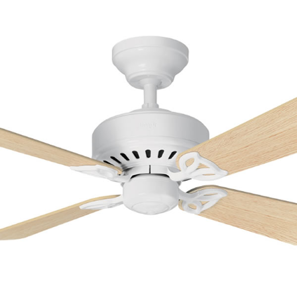Hunter Bayport Ceiling Fan (Light Oak) - Traditional ...