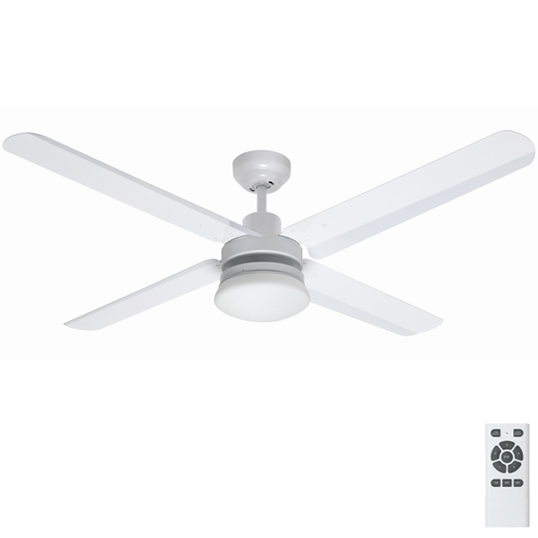 Eco Motion DC Ceiling Fan With Light And Remote