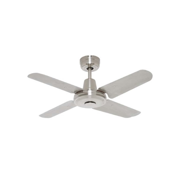 Swift Mini Ceiling Fan Brushed Chrome Metal 36 Quot