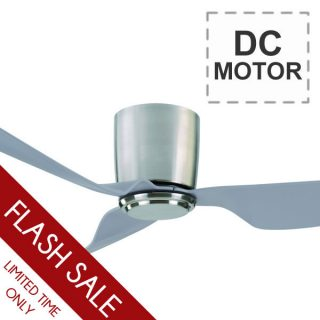 Mercator City Ceiling Fan With Remote Dc Motor 52 Quot Chrome