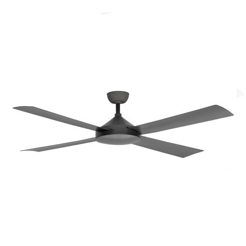 Milano Ceiling Fan Pewter In 56 Quot High Airflow