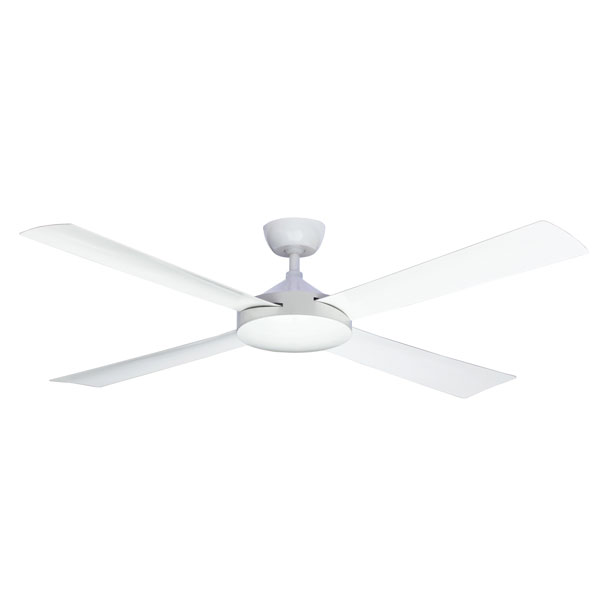 Milano Ceiling Fan White In 48 Quot High Airflow
