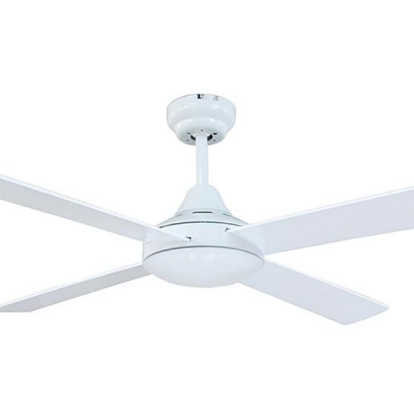 Brilliant Ceiling Fans: tempo-ii-ceiling-fan-close-white,Lighting