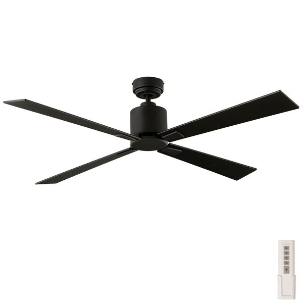 Quantum Ceiling Fan Dc Motor Remote By Aeroblade Black 52
