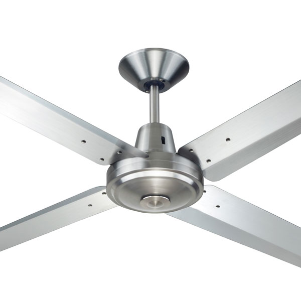 High Resolution Quality Ceiling Fans 5 Chrome Ceiling Fan: Typhoon Ceiling Fan (Mach 3) By Hunter Pacific 316 Steel