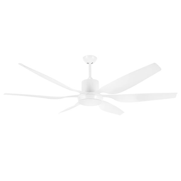 White Brilliant Aviator Ceiling Fan With Light