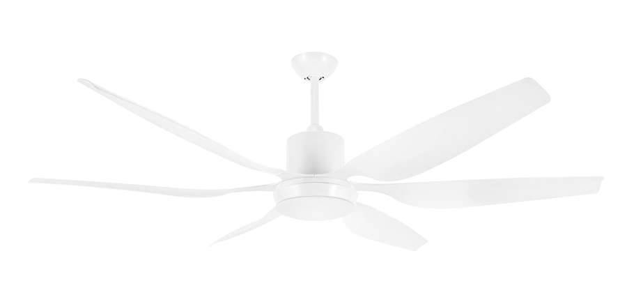 White ceiling fans aviator large dc ceiling fan with light option by brilliant white 66 aloadofball Choice Image