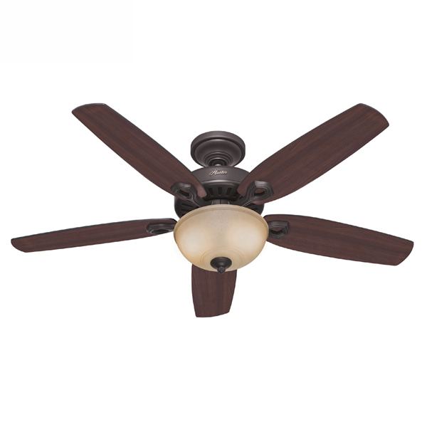 Builder Deluxe Ceiling Fan With Light