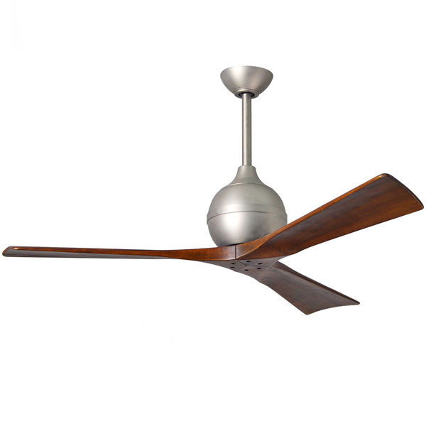 Atlas Irene 3 Ceiling Fan With Remote Control Brushed