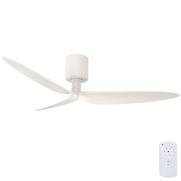 Lily Ceiling Fan Remote Included Dc Motor White