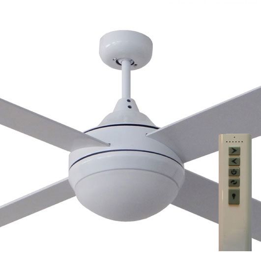 milano dc ceiling fan with light