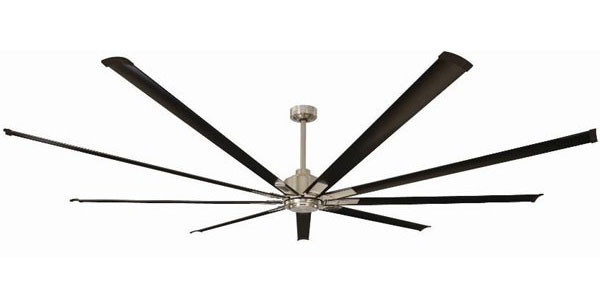Rhino dc extra large dc ceiling fan mercator 95 rhino large dc ceiling fan by mercator with remote black 95 mozeypictures Image collections