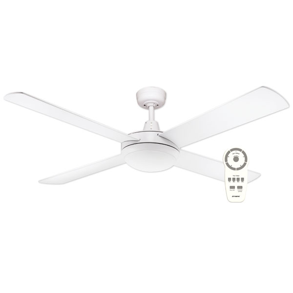 urban 2 dc ceiling fan with led light remote control. Black Bedroom Furniture Sets. Home Design Ideas