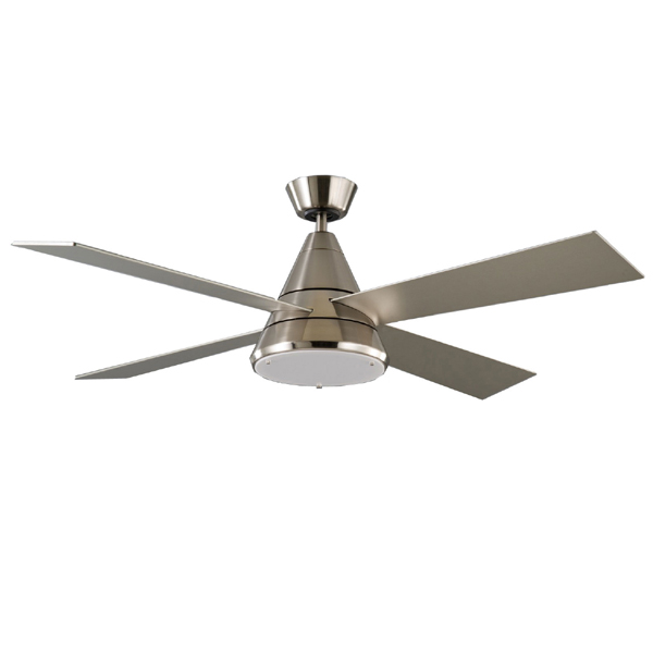 Harrier ceiling fan dc motor light remote satin nickel 52 harrier high performance ceiling fan mozeypictures Image collections