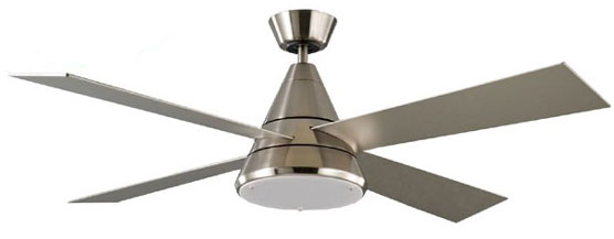 Harrier ceiling fan dc motor light remote satin nickel 52 harrier satin nickel light mozeypictures Image collections