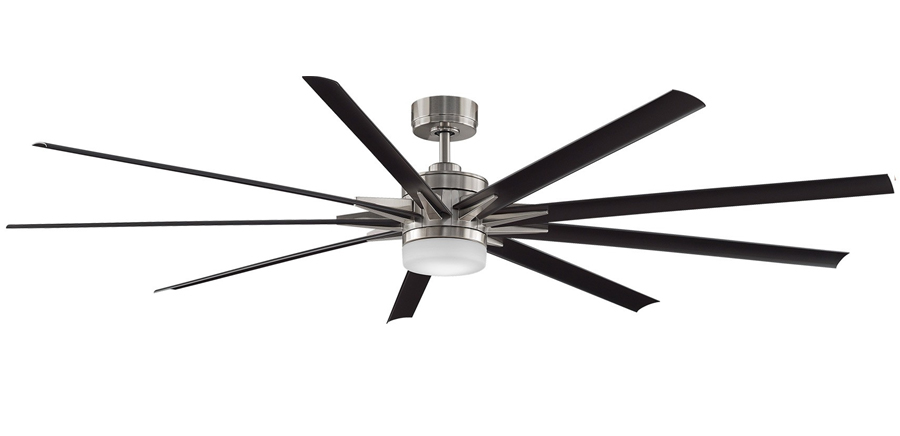 Odyn high airflow dc ceiling fan led light and remote 84 please note that these figures are provided by the manufacturer mozeypictures Images