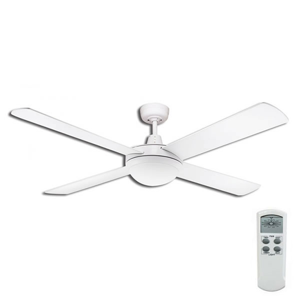 urban 2 ceiling fan with led light and dimmable remote. Black Bedroom Furniture Sets. Home Design Ideas