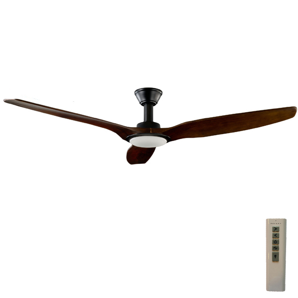 Trident dc ceiling fan high airflow led light black 70 trident dc ceiling fan high airflow mozeypictures Gallery