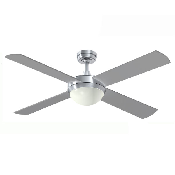 intercept 2 ceiling fan with led light and dimmable remote. Black Bedroom Furniture Sets. Home Design Ideas