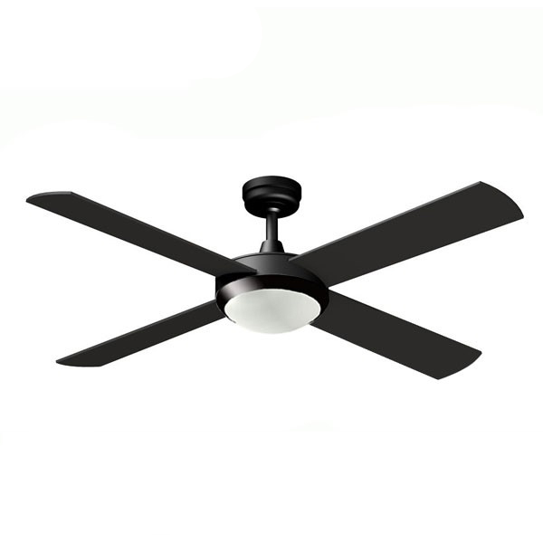 eco2 ceiling fan with led light and dimmable remote. Black Bedroom Furniture Sets. Home Design Ideas