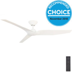 fanco white Infinity ceiling fan 54 inch