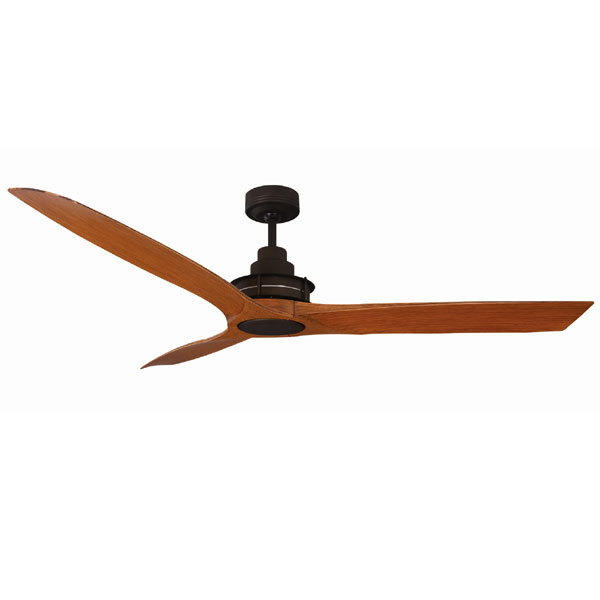 Flinders Ceiling Fan With Wall Control 56 Oil Rubbed Bronze Motor Alder Timber Pattern Blades By Mercator