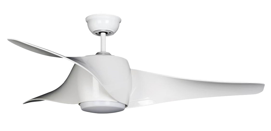 Wing Ceiling Fan With Led Light 50 Quot By Brilliant White